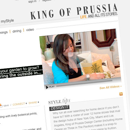 King of Prussia: Website