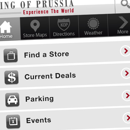 King of Prussia: iPhone/Android App